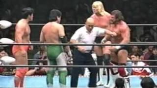 getlinkyoutube.com-Mitsuharu Misawa & Kenta Kobashi vs. Steve Williams & Johnny Ace - AJPW 04.03.1995 Part.1