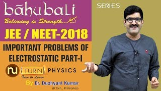 Important Problems Of Electrostatic I Part-I I NEET/JEE-2018 width=
