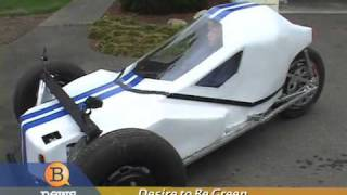 getlinkyoutube.com-Teenager Builds Electric Car - $.02 a mile to operate!