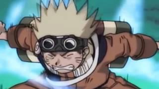getlinkyoutube.com-Naruto and Iruka vs Mizuki   Full FIght   English Dub