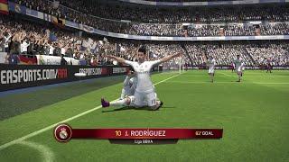 getlinkyoutube.com-Fifa 16 - Gameplay - Real Madrid Barcelona - Xbox 360
