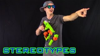 getlinkyoutube.com-NERF STEREOTYPES | THE CHEATER