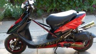 getlinkyoutube.com-Honda Dio ZX 100cc.Стайлинг проект.История от начала до конца.