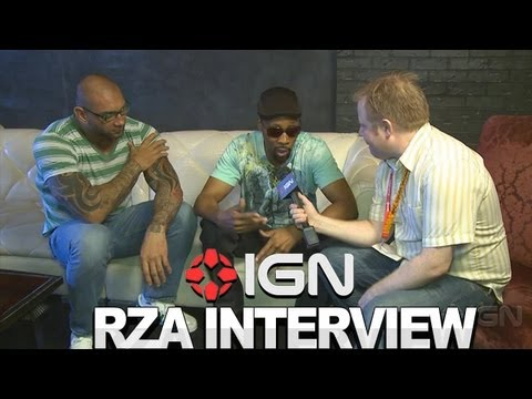 The Man With The Iron Fists: Rza and Dave Bautista Interview - Comic-Con 2012