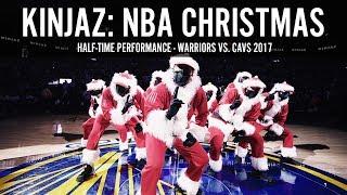 KINJAZ NBA CHRISTMAS Warriors vs Cavs 2017 width=