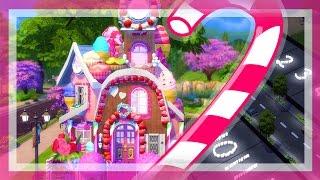 getlinkyoutube.com-The Sims 4 Speed Build | Candy House #StrangeStreet