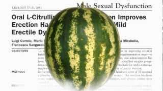 getlinkyoutube.com-Watermelon vs. Viagra? Sexual Treatment Science Reveals New Information