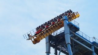 getlinkyoutube.com-Gravity Max OMFG Tilt Roller Coaster POV Seriously Messed Up AWESOME Ride! 搶救地心