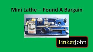 getlinkyoutube.com-Mini Lathe-Found a Bargain