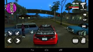getlinkyoutube.com-GTA SA: Drag car mod android [HUN]