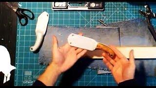 getlinkyoutube.com-ножны из ПВХ   своими руками