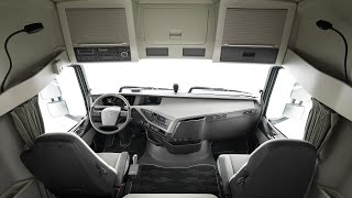 getlinkyoutube.com-CABINA NUEVO Volvo FH - Volvo Trucks Argentina | Parte 2 | Mercado Vial TV