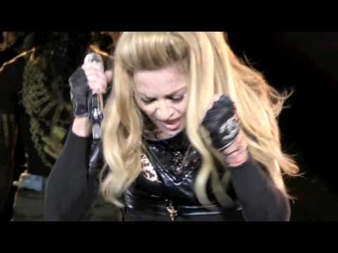 Madonna MDNA HD  - Papa Don't Preach/ Hung Up - Paris