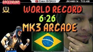 World Record Mortal Kombat 3 SpeedRun  6:26   BySpeed
