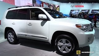 getlinkyoutube.com-2015 Toyota Land Cruiser - Exterior and Interior Walkaround - 2015 Detroit Auto Show