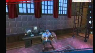 getlinkyoutube.com-[Wii] Capitan America - presentacion y juego - gameplay