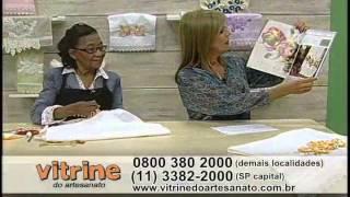 getlinkyoutube.com-Bordado Floral com Enedina Barbosa - Vitrine do Artesanato na TV