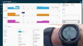 getlinkyoutube.com-Garmin Fenix 3 Indoor Pool Swimming Activity Demo