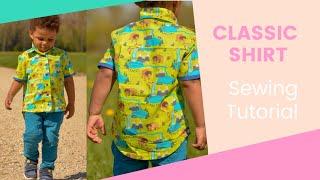 getlinkyoutube.com-How to sew a shirt - Step by Step