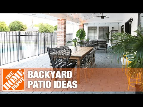 A video highlighting backyard patio ideas.