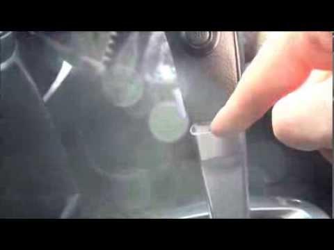 Nissan Note 1.6 меняем лампочку АКПП