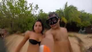 getlinkyoutube.com-Raio Cai na Hora do Selfie e Assusta Casal