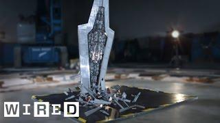 getlinkyoutube.com-4-Foot LEGO Super Star Destroyer - How We Smashed It