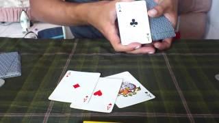 getlinkyoutube.com-sulap 4 kartu AS paling mudah