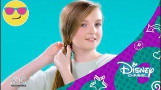 getlinkyoutube.com-Disney Channel España | K.C. Agente Especial - Hair Tutorial - Zendaya