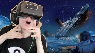 getlinkyoutube.com-TITANIC SINKING SIMULATOR IN VR | Fall of the Titanic (Oculus Rift: DK2)