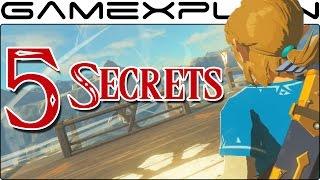 getlinkyoutube.com-5 SECRETS in Zelda: Breath of the Wild's Life in the Ruins Trailer