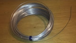 getlinkyoutube.com-How to straighten 16 gauge wire to make control rods for RC airplanes