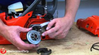 getlinkyoutube.com-How to Replace the Clutch on a Chainsaw