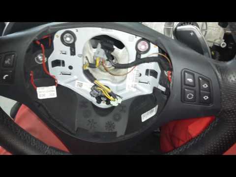 BMW E91 Замена торпеды с аирбегами