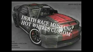 getlinkyoutube.com-ミニカー改造 「デス・レース」Hot Wheels custom DEATH RACE MUSTANG