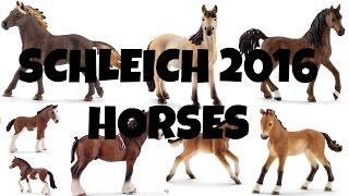 getlinkyoutube.com-ALL SCHLEICH 2016 HORSES   horzielover