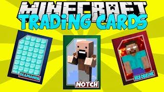 getlinkyoutube.com-Minecraft Mods || TRADING CARDS!!! || Notch vs Herobrine!!! || Mod Showcase [1.7.10]