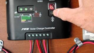 getlinkyoutube.com-Load control Programming feature of the EPRC solar charge controller AVI