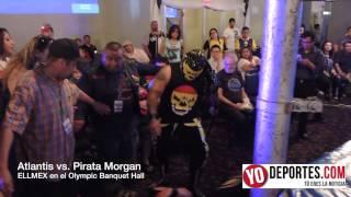 Atlantis vs. Pirata Morgan Jr. en Chicago
