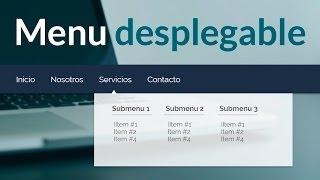 getlinkyoutube.com-Como hacer un menu desplegable para tu sitio web ( html y css )
