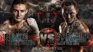 getlinkyoutube.com-Craig Dickson Sumalee VS Saenchai P.K. Saenchai Gym: THAI FIGHT WORLD BATTLE, Vietnam, 20th Sept '14