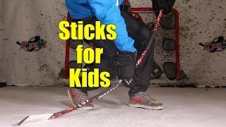 getlinkyoutube.com-Battle Mode Stick Review - 17.5 flex - 40 flex sticks for kids