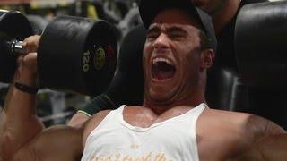 getlinkyoutube.com-Heavy Shoulder Workout | Calum Von Moger