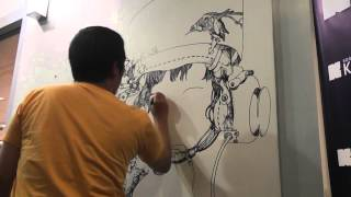"getlinkyoutube.com-Katsuya ""Terra"" Terada Live Drawing"
