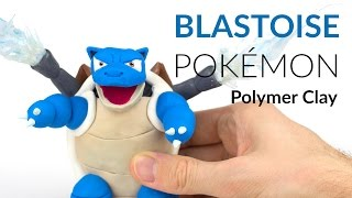 getlinkyoutube.com-Blastoise Pokemon – Polymer Clay Tutorial
