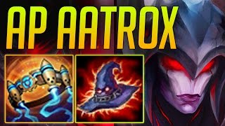 getlinkyoutube.com-AP ASSASSIN AATROX CHEESE [ LOTS OF 1 SHOTS ]