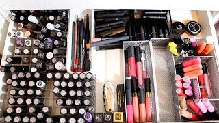 getlinkyoutube.com-Makeup Collection, Decluttering, & Cleaning Out TIPS