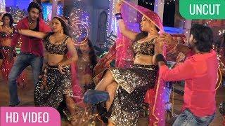 ON LOCATION SONG SHOOT   New Bhojpuri Film Ya Ali Bajrang Bali   Amrapali Dubey, Pradeep Pandey