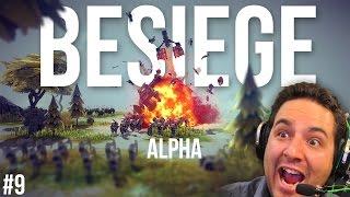 getlinkyoutube.com-UN BALLON BOMBARDIER! | Besiege Alpha