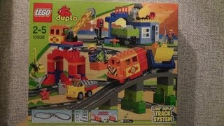 getlinkyoutube.com-LEGO DUPLO 10508 DELUXE TRAIN SET